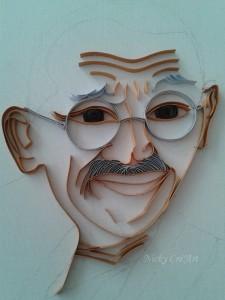 Gandhi esquisse