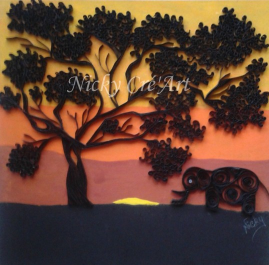 Le baobab et l'éléphant