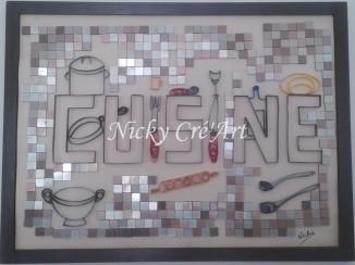 Cette création a sa place sur le mur de ma cuisine... ;-)