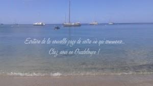 Ma nouvelle vie démarre en Guadeloupe...mon inspiration et ma créativité sera à son apogée oui je le veux !!